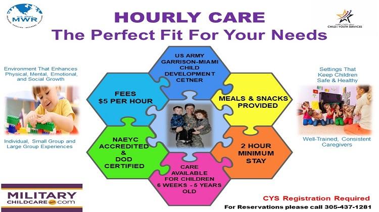 Child Development Center Hourly Care
