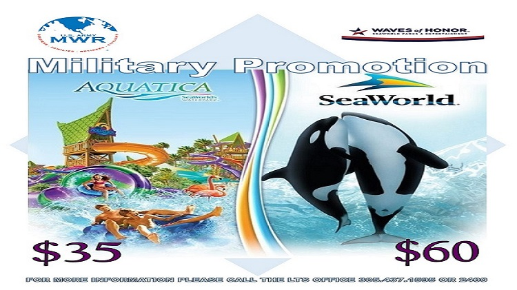 SEAWORLD MILITARY PROMOTION