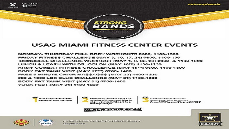 Fitness Center STRONG B.A.N.D.S Activities #strongbands