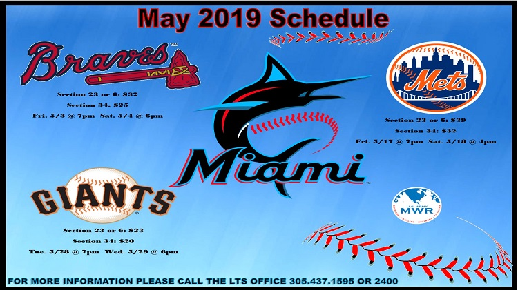 2019 MIAMI MARLINS TICKETS