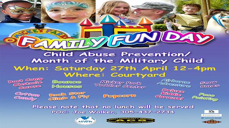Family Advocacy Program Family Fun Day