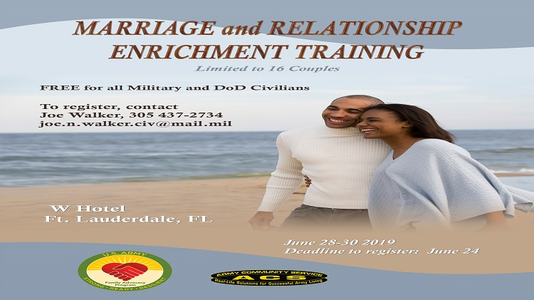 Marriage and Relationship Enrichment Training
